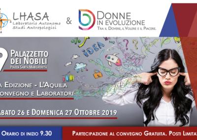 Evento L'Aquila Ottobre 2019