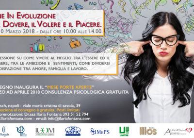 Evento Napoli Marzo 2018